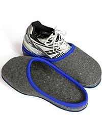 Sur-chaussons d'Intérieur pour Chaussures pantoufle chaussures de ville Musée Pardessus Nouveau
