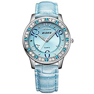 Damen-Jugendliche-Mdchen-Wasserdicht-Blau-Echtleder-Designer-Uhren-Frauen-leuchtend-Mode-Elegant-Analog-Quarz-Armbanduhr-Weiblich-Luxus-Bling-Kristall-Accentted-Dial-Uhr