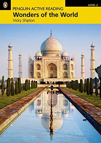 Penguin Active Reading 2: Wonders of the World Book and CD-ROM Pack (Penguin Active Reading (Graded Readers)) - 9781408232002