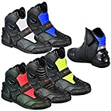 Motorbike Boots Motorcycle Shoes Biker Racing Stylist Short Ankle Boot Motorcycle Track Touring