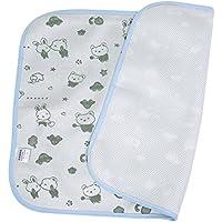 Cambiador de bebé Impermeable 3 capas Almohadilla de cama/cambio Almohadillas lavables para niños Pañales