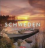 Schweden: Licht und Wasser. Wandkalender 2020. Monatskalendarium. Spiralbindung. Format 46 x 48 cm
