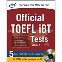 [(Official TOEFL IBT Tests with Audio: 3 Reading Tests + 3 Writing Tests + 3 Mathematics Tests)] [ By (author) Educational Testing Service ] [January, 2013]