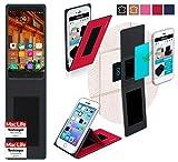 reboon Hülle für Elephone P9000 Tasche Cover Case Bumper | Rot | Testsieger
