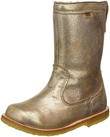 Bisgaard Unisex-Kinder Stiefel, Gold (6011 Gold), 35 EU
