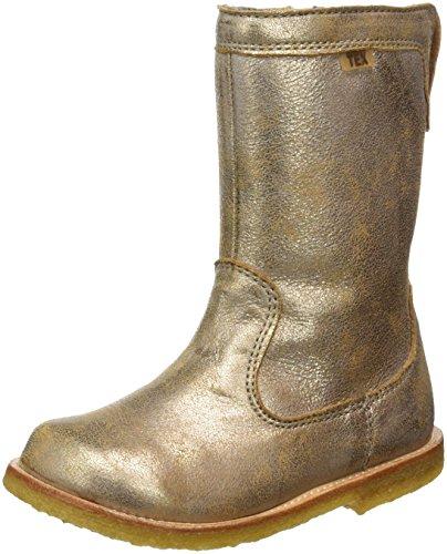 Bisgaard Unisex-Kinder Stiefel, Gold (6011 Gold), 35 (Kinder Gold Für Stiefel)