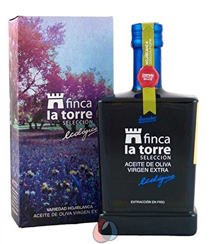 6 botellas vidrio 500 ml - Finca la Torre - Aceite de oliva virten extra Hojiblanca ecológica por Oliva Oliva Internet S.L.