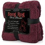 Snug Rug Special Edition Luxury Sherpa - Manta de forro polar, ciruela, 127x 178cm
