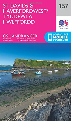 Ordnance Survey: St Davids & Haverfordwest (OS Landranger Map, Band 157)