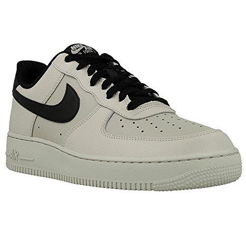 Nike Herren Air Force 1 '07 Turnschuhe Grau (Pale Grey/black)