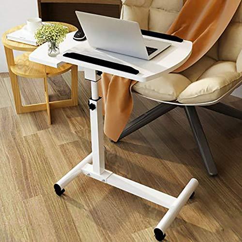 WY-ZDDNZ Tragbarer Computer-Schreibtisch Höhenverstellbar Beweglich Drehen, Geeignet Für Zu Hause...