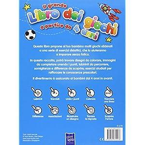 Il grande libro dei giochi a partire da 4 anni