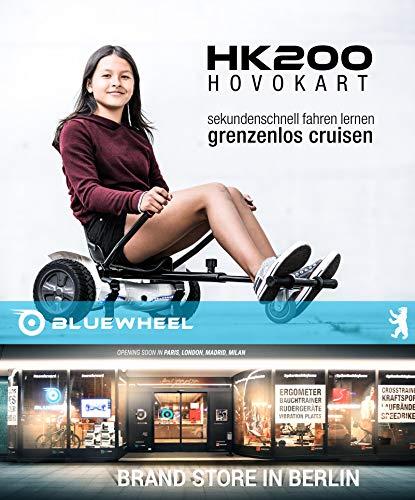 Bluewheel Hovokart HK200 Sitz Erweiterung für 6, 5 – 10 Zoll Hoverboard, E-Kart, Elektro Go-Kart, Sitzaufsatz, Schalensitz & Umbausatz, anpassbarer Stahl-Rahmen - 2