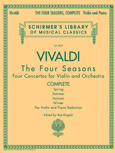 Price comparison product image Vivaldi: Complete Violin: The Four Seasons