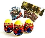 #10: 3 Spider-Man Surprise Eggs and 1 Spider-Man Reusable Sticker Scene