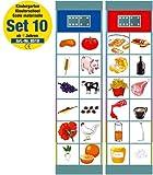 Flocards Junior Set 10: Kindergarten ab 4 Jahren
