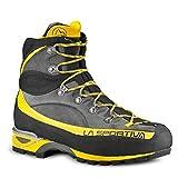 La Sportiva Trango Alp Evo GTX Grey/Yellow, Stivali da Escursionismo Alti Unisex-Adulto, 000, 45 EU