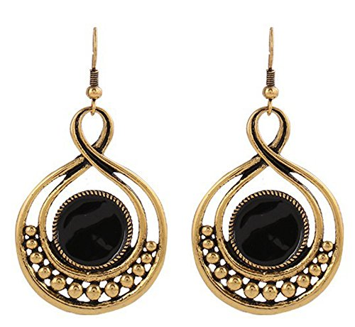 SaySure - Classical Jewelry Enamel Earrings 18K Gold/Silver Plated