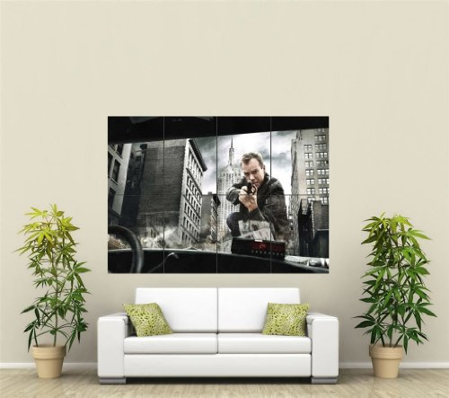 Click for larger image of 24 JACK BAUER GIANT WALL ART PRINT POSTER ST150