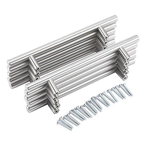 20Pro Paquete Acero Inoxidable Metal Tirador Tiradores hängegriffe Mango Cocina Tirador para & Super Oferta
