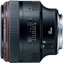 Canon EF 85mm f/1.2L II USM - Objetivo (8/7, USM, Canon DSLR, Negro)
