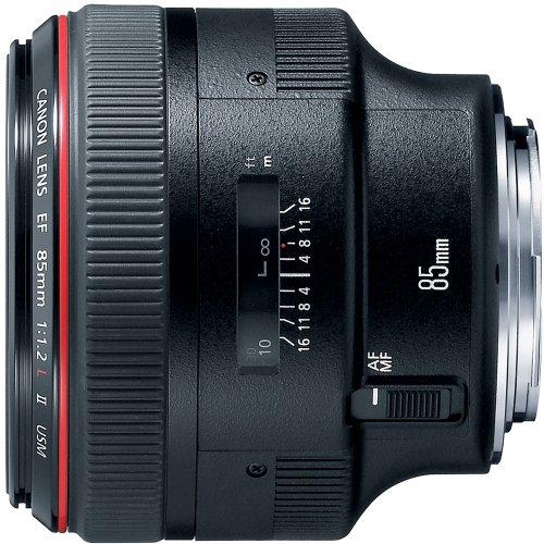 Canon EF 85mm f/1.2L II USM Nero