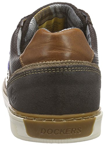Dockers 182 Marrone By 38po003 360 Gerli cioccolato Homme Marron Bassi Cesti A6Aqr