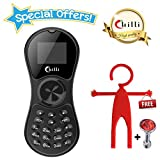 #10: Chilli Spinner Phone World's Slimmest Mobile Phone Cum Spinner Credit Card Sized - Black