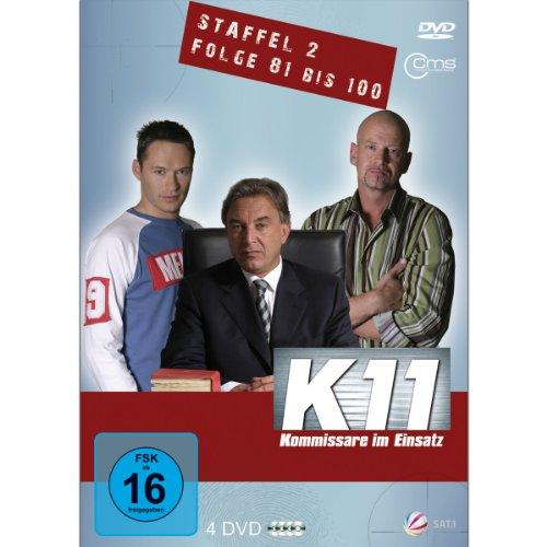 Kommissare im Einsatz: Staffel 2, Folge  81-100 (4 DVDs)