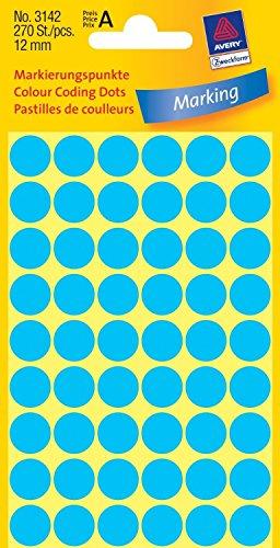 avery-zweckform-paquet-de-270-pastilles-adhsives-diamtre-12-mm-bleues