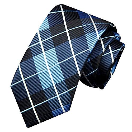 Tonsee® Neck Tie Accessoires Classique Affaires Décontractée cravates tricotées de l'homme (C)