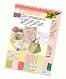 folia 11749 - Designpapierblock, Frühjahr / Ostern, DIN A4, 12 Blatt