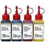 Tinta, tinta para impresora Epson EcoTank L300, 350, 355, L550, 555, color 4x 250ml Schwarz, Cyan, Magenta, Yellow