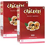 Go Crackers Kashmiri Brown Walnuts kernels 500 gm (250gm x 2)-Without Shell
