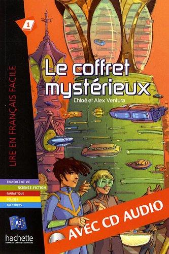 Le Coffret Mysterieux - Livre & CD Audio (Lire en français facile Fiction A1) por Fabienne Gallon