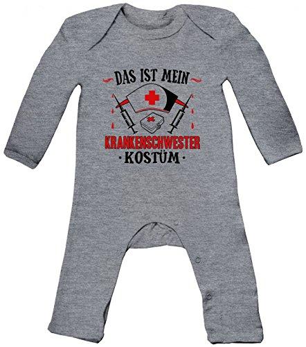 Kostüm Arzt 18 12 Monat - Shirt Happenz St. Patrick's Day #1 Premium Hoody | Irland | Pub Hoodies | Kleeblatt-Grün | Herren | Kapuzenpullover, Farbe:Graumeliert (Heather Grey Melange BZ13);Größe:12-18 Monate