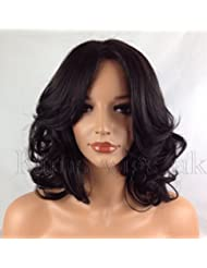 Amazon Co Uk Shoulder Length Wigs Hair Extensions Wigs