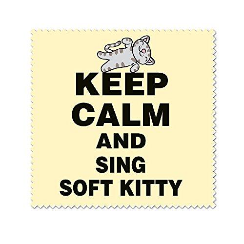 Kitty Mode-taschen (Keep Calm and Sing Soft Kitty Mikrofaser Reinigungstuch)