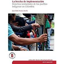La brecha de implementación: Derechos territoriales de los pueblos indígenas en Colombia (Textos de Jurisprudencia, Serie Maestría nº 1) (Spanish Edition)