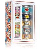 Kusmi Tee Miniaturen Russisch mit Teesieb