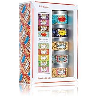Kusmi-Tee-Miniaturen-Russisch-mit-Teesieb