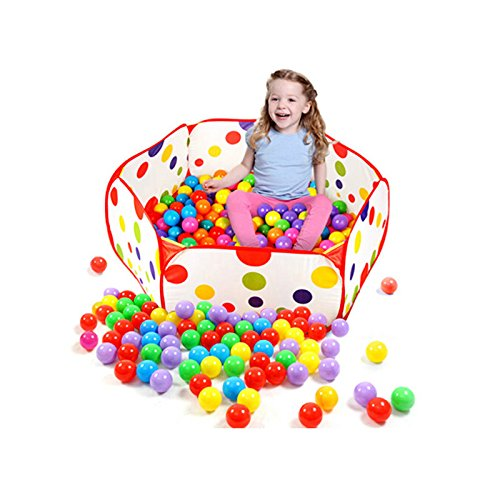 WeiMay-Kids-Ball-Pit-Playpen-Todoterreno-Sea-Ball-Pool-Tienda-de-campaa-para-interiores-y-exteriores-Bolas-no-incluidas-S