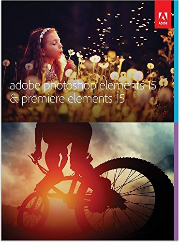 Adobe Photoshop Elements 15 & Premiere Elements 15 | Standard | PC/Mac | Disc Sd Link