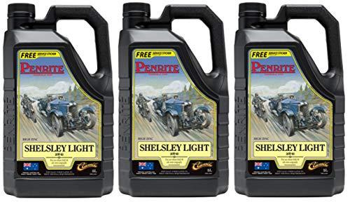Penrite Shelsley Light 20W-60 - Olio Motore 15 Lit