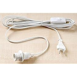 MItuso Kabel mit Fassung weiß E14