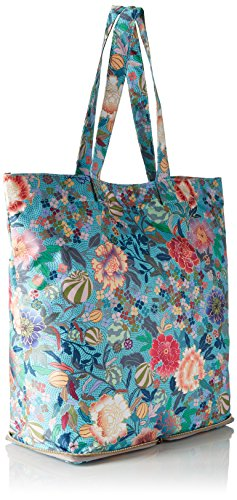 Oilily - Oilily Folding Shopper, borsetta tipo pochette Donna Blu ( Pool Blue)
