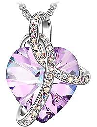 """Sivery """"Cadeau d'amour"""" collier femme-Cristaux de Swarovski, bijoux femme"""