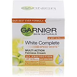 Garnier Skin Naturals Fairness Cream, White Complete (SPF 19), 40g