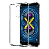 #9: Efonebits(TM) Crystal Clear Hot Transparent Premium Soft Silicone Back Case Cover For Huawei Honor 6X