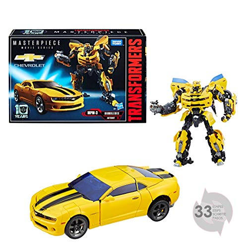 Transformers - C0892 - Masterpiece Movie 10th Anniversary Series Figurine - Bumblebee